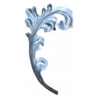 51.126 DECORATIVE WROUGHT IRON STAMPING FLOWERS&LEAVES