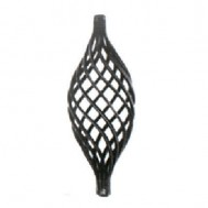 12.117 Wrought Iron Eight Wires Twist Basket