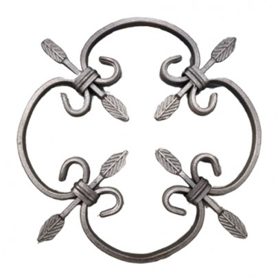 13.000 Decorative Wrought Iron Rosettes For Gate Fence and Staircase