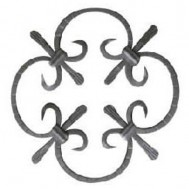 13.001 Decorative Wrought Iron Rosettes For Gate Fence and Staircase