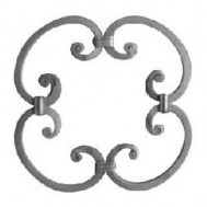 13.002 Decorative Wrought Iron Rosettes For Gate Fence and Staircase