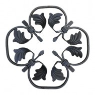 13.008 Decorative Wrought Iron Rosettes For Gate Fence and Staircase