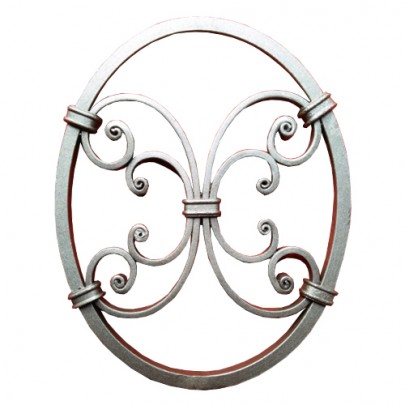 13.006 Decorative Wrought Iron Rosettes For Gate Fence and Staircase