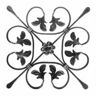 13.009 Decorative Wrought Iron Rosettes For Gate Fence and Staircase
