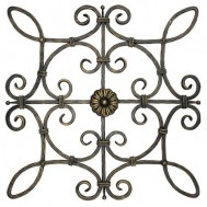 13.011 Decorative Wrought Iron Rosettes For Gate Fence and Staircase