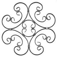 13.012 Decorative Wrought Iron Rosettes For Gate Fence and Staircase