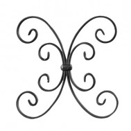 13.014 Decorative Wrought Iron Rosettes For Gate Fence and Staircase