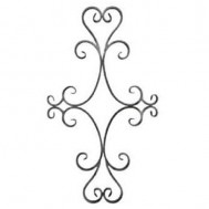 13.015 Decorative Wrought Iron Rosettes For Gate Fence and Staircase