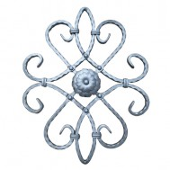 13.018 Decorative Wrought Iron Rosettes For Gate Fence and Staircase