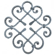 13.019 Ornamental Wrought Iron Panels For Gate Fence and Staircase