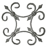 13.021 Ornamental Wrought Iron Panels For Gate Fence and Staircase