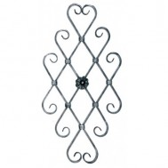 13.022 Ornamental Wrought Iron Panels For Gate Fence and Staircase