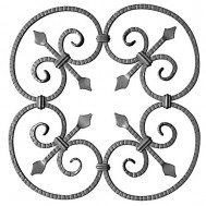 13.025 Ornamental Wrought Iron Panels For Gate Fence and Staircase
