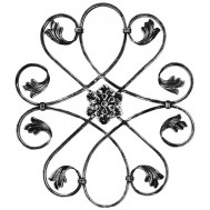 13.026 Ornamental Wrought Iron Panels For Gate Fence and Staircase