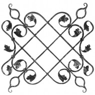 13.027 Ornamental Wrought Iron Panels For Gate Fence and Staircase