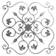 13.028.01 Ornamental Wrought Iron Panels For Gate Fence and Staircase