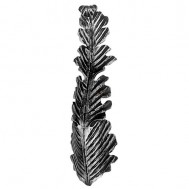 51.108 Decorative Garden Fence Cast Steel Flowers And Leaves