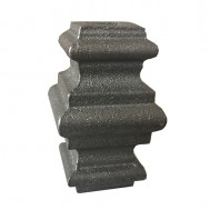 41.022 Ornamental Wrought Iron Forged Studs For Fence Gate