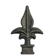 40.515 Decorative Cast Iron / Steel Spear Points Railheads