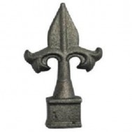 40.518.01 Decorative Cast Iron / Steel Spear Points Railheads