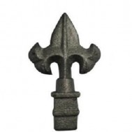 40.523 Decorative Cast Iron / Steel Spear Points Railheads
