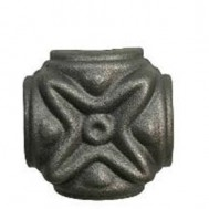 41.309.01 Ornamental Wrought Iron Forged Studs For Fence Gate
