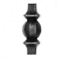 41.403 Ornamental Wrought Iron Forged Studs For Fence Gate