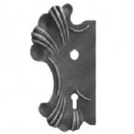 SIMEN METAL 63.127 Ornamental Wrought Iron Lock Plate For Gate