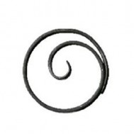11.033 Wrought Iron Ring Product For Railing Fence