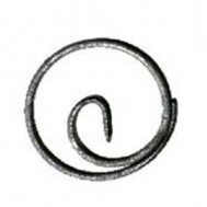 11.034 Wrought Iron Ring Product For Railing Fence
