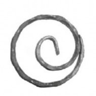 11.034.01 Wrought Iron Ring Product For Railing Fence
