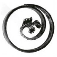 11.034.02 Wrought Iron Ring Product For Railing Fence
