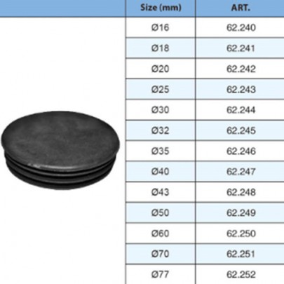 62.240-62.252 HIGH QUALITY HOLLOW BALL WITH SQUARE BASE CAPS