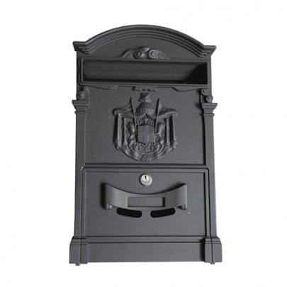 Wall Mounted Wrought Iron Home Postal Boxes Parcel Letter Box