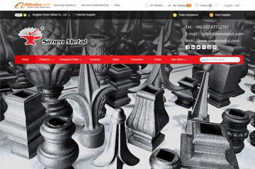 SIMEN METAL Alibaba - where to find wrought iron supplier